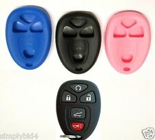 2 Auto Remote Fob Key Cover GM Chevy, Buick, Cadilac GMC-55 (with remote start)