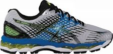 ASICS MENS GEL NIMBUS 17 RUNNING SHOES-SNEAKERS-T507N-9190- LIGHTNING/BLACK/YELL