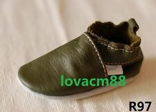 R97 RUJI baby toddler adult man cow soft leather crib shoe slipper 13size