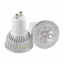 4x3W 12W LED Lamp Spotlight Warm Cool White Bulb MR16 E27 GU10 Ceiling Light