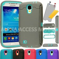 Heavy Duty Hybrid Hard Shockproof Rugged Case Cover For Samsung Galaxy S4 i9500
