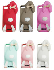 Cartoon 3D Rabbit Bunny Soft Silicone Case Skin Cover For Apple iPhone 5 6 7 7+
