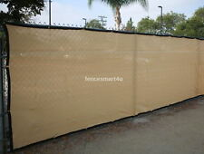 5' x 50' UV Rated 85% Blockage Fence Privacy Windscreen W/Grommets