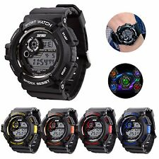 Fashion Waterproof Men's Analog Military Army Sports Quartz Digital Wrist Watch