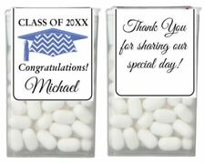 2017 GRADUATION Party Favor Personalized TIC TAC Labels Stickers Wrappers