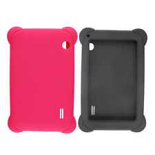 7 Inch Tablet Cute Silicone Gel Tablet Case Durable Protective Cover for 86V