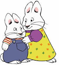 Max and Ruby Iron on T shirt Transfer,bibs,bags and Cushions