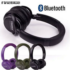 100%Fineblue Bluetooth3.0 TF FM Stereo Headset Earphone Headphone For Smartphone