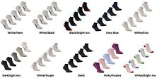 10 Pairs Slazenger Mens Ladies Kids Trainer Sock Shoe Liner Sports socks Running