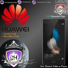 Real Tempered Glass Film Screen Protector for Huawei Case Cover Various Model