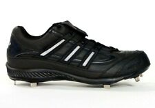 Adidas Spinner 7 Low Baseball Cleats Shoes Softball Black Mens NEW