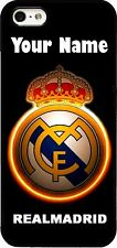 Custom REAL MADRID CREST Phone Case/Cover with your Name iPhone Samsung HTC LG