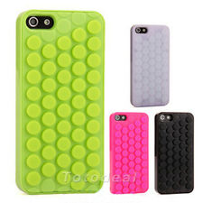New Pop Design Bubble Wrap Mobile Phone Case Cover Skin for Apple iPhone 5 5S DO