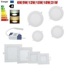 6W 9W 12W 15W 18W 21W Dimmable LED Ceiling Panel Light Free Driver Energy Saves