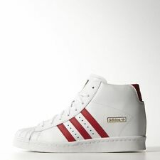 Womens Adidas Superstar Up Wedge Sneakers White / Red SOLD OUT IN STORES B32732