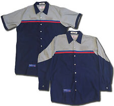 Red Kap Ford Technician Short and Long Sleeve Work Uniform Mechanic Shirt SPQC