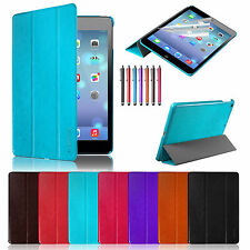Stylish Slim Leather Cover Smart Case for Apple iPad Mini 2 with Retina Display