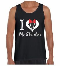 I Love My Girlfriend Men's Tank Top St Valentine's Day Cute Gift For Him TankTOP