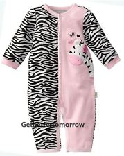 NWT Infant Baby Girl Striped Romper Bodysuit Jumpsuit Clothes