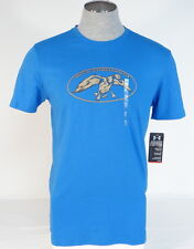 Under Armour Duck Commander Blue Loose Fit Short Sleeve Tee T Shirt Mens NWT