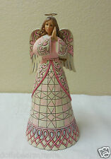 "NIB 2012 Jim Shore ""A PRAYER FOR HEALING"" Breast Cancer Angel 2012. 4027760"