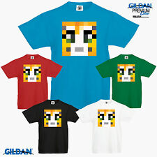 Stampy Mine Cat Tribute Craft T Shirt Longnose Xbox Youtube PC PS Gamer Funny