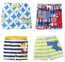 Mud Pie Swim Trunks- Alligator, Crab, Pelican, or Shark