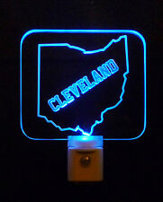 Cleveland Ohio LED Night LED Night Light - *Can Customize-Gift