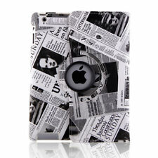 For Apple iPad 2 3 4 360 Rotating Leather Case Smart Stand Cover USA