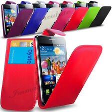 SAMSUNG GALAXY S2 I9100 PREMIUM QUALITY PU LEATHER FLIP CASE COVER POUCH