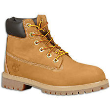 "Timberland Big Kids' 6"" Classic Boots Wheat 10960 a"