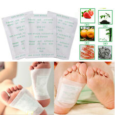 Detox Foot Pads Reflexology Herbal Body Cleanse Remedy Adhesive Sticker Paster