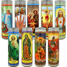 Langley Scented & Unscented Religious Prayer Candles