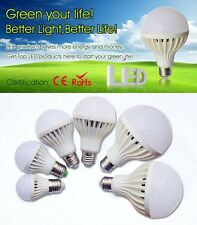 Led E27 E14 B22 Lampadina Light lamp Bulb 3W 5W 7W 9W 12W 15W 18W 20W 110V 220V
