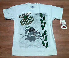 Minnesota North Stars Vintage Deadstock T-Shirt By Apex One L XL NHL