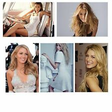 BLAKE LIVELY Sexy BANNER Vinyl Poster The Age Of Adaline Gossip girl Star PHOTO