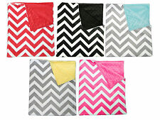 Chevron Baby Minky Blankets Crib, throw blanket, Twin bed, 30X35, 36X45, 40X60