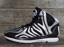 Mens Adidas D Rose 4.5 Sneakers New, Black Silver Striped G99364 Limited Edition