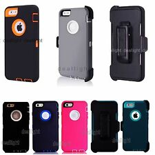 New Defender Case & Belt Clip Holster for Apple iPhone 6 6 Plus Series