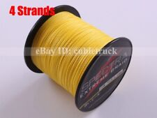 100M 300M 500M 1000M Yellow 6LB-300LB Test Braid Spectra PE Dyneema Fishing Line