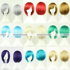 Short Heat Resistant Cosplay Anime Party Wig Fashion MSN Artificial Hair MFR