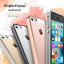 iPhone SE 5S 5 Case For Ringke Fusion Hard Slim Clear PC Back TPU Bumper Cover