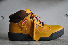 Supreme x Timberland Field Boots - Yellow Smooth