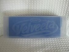 Kraft Velveeta Cheese Container Clear Cover & Blue Base