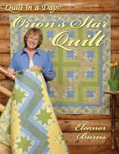 Orion's Star Quilt by Eleanor Burns (2009, Paperback)
