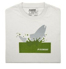 Sage Splashing Trout Tee
