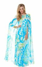 New Lilly Pulitzer KINGSTON Maxi Caftan Resort White Crystal Coast Dress 4