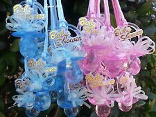 Pacifier Necklaces Baby Shower Games Favors Prizes Pink, Blue, Boy's, Girl's
