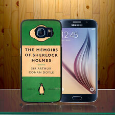 Penguin Books Vintage Retro Sherlock Holmes Conan Galaxy S6 Phone Case Cover Z70
