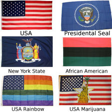 American 3' x 5' Flags (Choose Your Flag) USA United States Polyester New